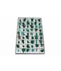 Lote colección 4x4 malaquita (Zaire)(54ud)
