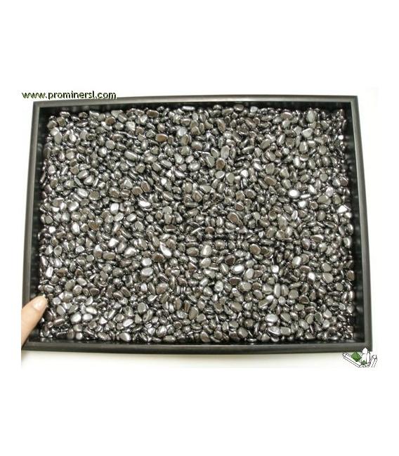 Rodado hematite 5 a 10mm (250gr)