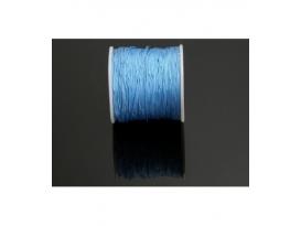 Rollo macramé azul 50m