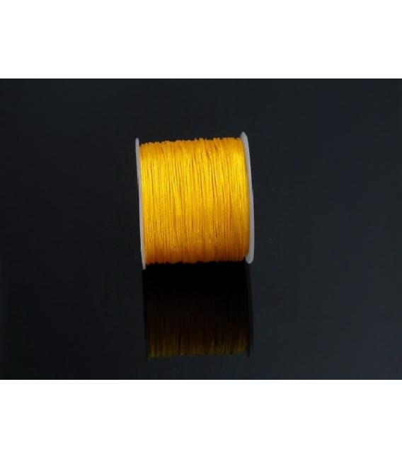 Rollo macramé amarillo 50m
