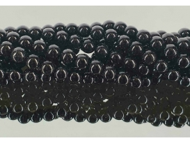 Hilo bola onix negro 6mm