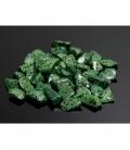 Rodado jaspe dálmata verde de 15 a 25mm (250gr)