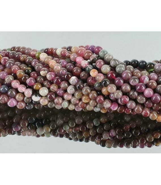Hilo bola turmalina multicolor 4/5mm