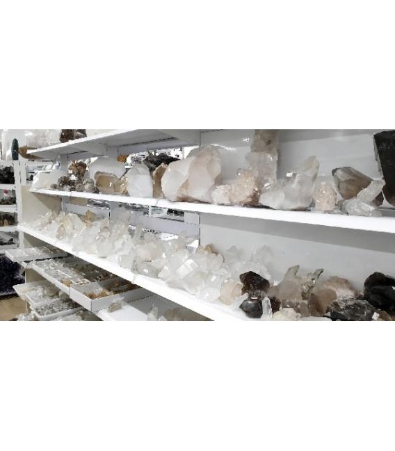 Puntas de cuarzo lemuriano tamaños variados (1kg)
