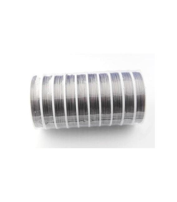 Cable de acero 0.38m 10m (2ud)