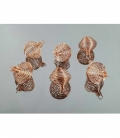 Jaulita redonda cobre (10ud)