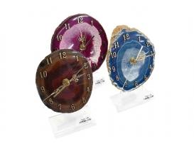 Reloj chapa de ágata 10 - 13cm
