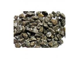 Rodado ágata fósil turritela de 10 a 15mm (1kg)
