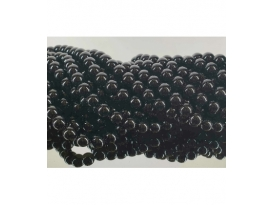 Hilo bola onix negro 4mm