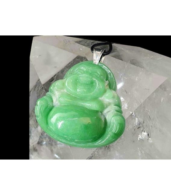 Colgante buda feliz jade (1ud)