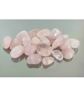 Rodado cuarzo rosa 15 a 20mm oferta (1kg)