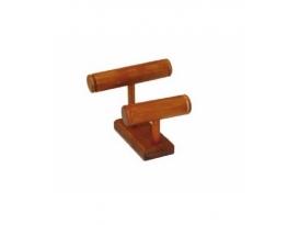 Expositor madera tailandesa pulserero 2 alturas