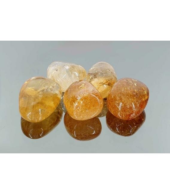 Rodado de citrino de 20 a 30mm (50gr)