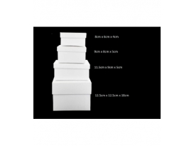 Caja infinita de 12.5 x 12.5cm