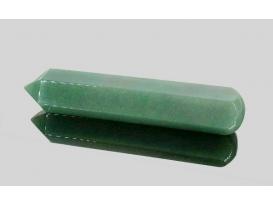 Masajeador lápiz cuarzo verde