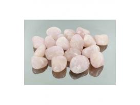 Rodado cuarzo rosa de 20 a 25 mm (5kg)