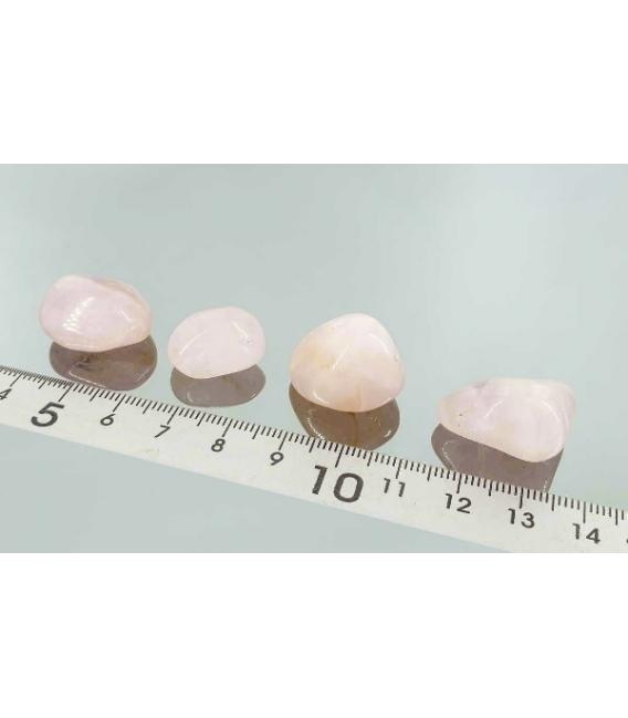 Rodado cuarzo rosa de 15 a 20 mm (5kg)