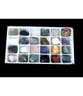 Caja masivo de minerales variados (24ud)