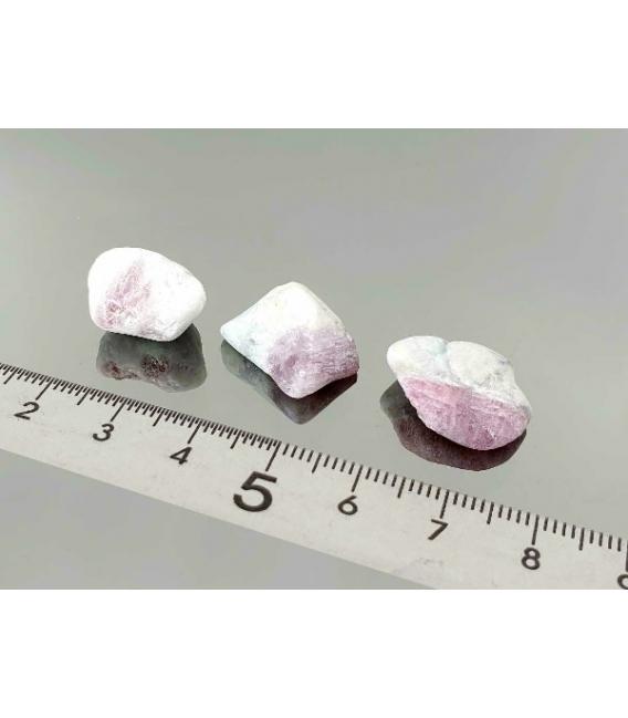 Rodado tumalina rosa feldespato mini (250gr)