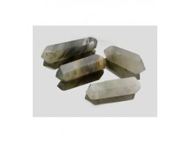 Biterminados de cuarzo con inclusiones (250gr)