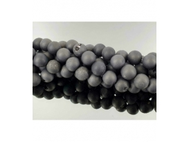 Hilo bola aqua aura negro 10mm