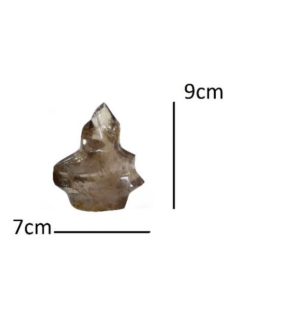 Antorcha cuarzo ahumado (1kg)