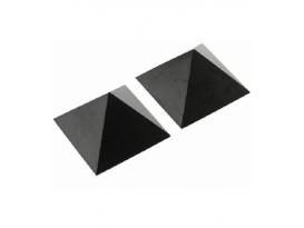 Pirámide de shungita pulida de 4x4cm