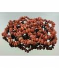 Pulsera rodado jaspe rojo (10ud)