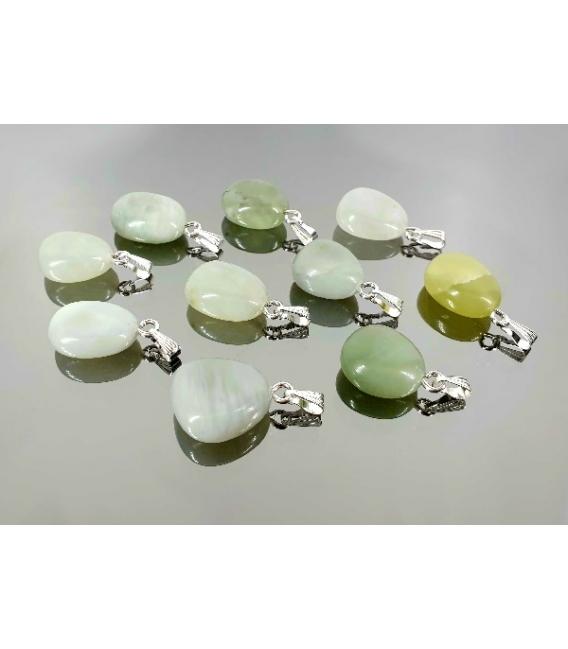 Colgante rodado primera jade (10ud)