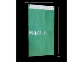 Sobres verdes 23 x 12cm (250gr)