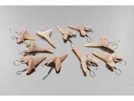 Colgante diente de tiburon (10ud)