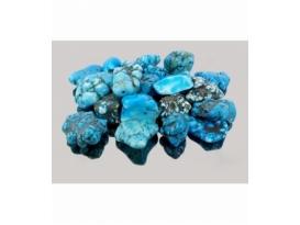 Rodado de howlita azul 20 a 35 mm (1kg)