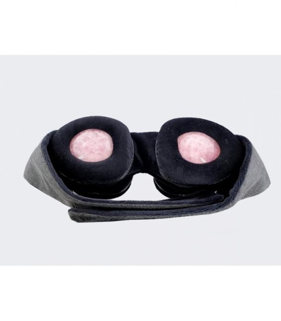 Mascara terapia ocular cuarzo rosa