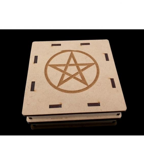 Placa grabada selenita tetragramaton