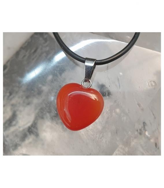 Colgante corazon variado pequeño (6ud)