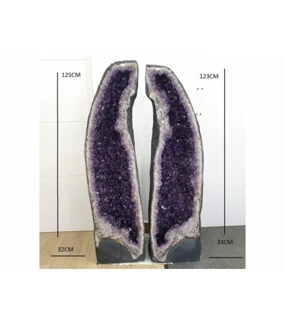 Pareja de geodas amatista (262kg)