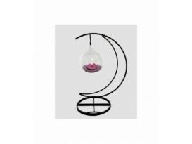 Portavela luna esfera amatista