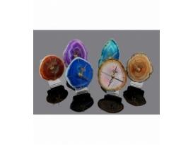 Reloj chapa de ágata 10 - 12cm
