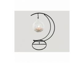 Portavela luna esfera cuarzo
