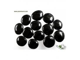 Rodado plano obsidiana negra (250gr)