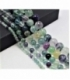 Hilo bola fluorita multicolor 4mm
