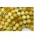 Hilo opalo amarillo 4mm