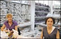 Vendedoras de minerales